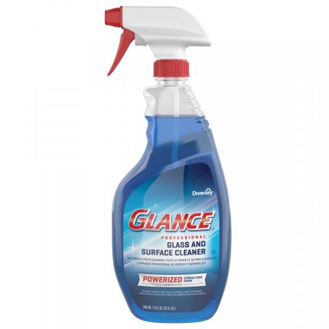 Glance Powerized Glass & Surface Cleaner 32 oz. spray trigger CBD539636 Front