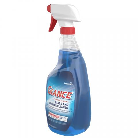 Glance Powerized Glass & Surface Cleaner 32 oz. spray trigger CBD539636 Right